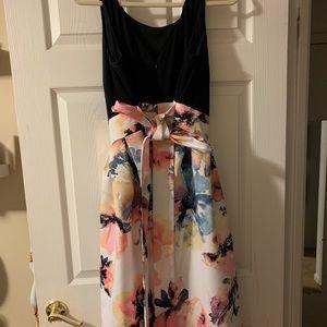 Woman's High Low evening dress